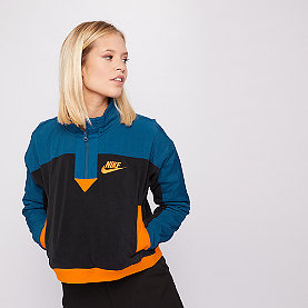 NIKE NSW Sweatshirt Polar black/blue force/orange peel
