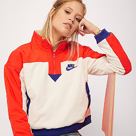 NIKE NSW Sweatshirt Polar light cream/habanero red/regency purple