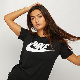 NIKE Short Sleeve T-Shirt black/black/white