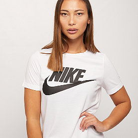 NIKE Short Sleeve T-Shirt white/white/black