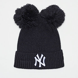 New Era Double Pom Cuff New York Yankees navy