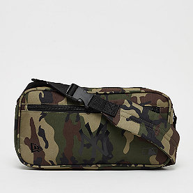 New Era MLB Waist Bag New York Yankees woodland camo/black
