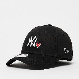 New Era New York Yankees Womens Heart 940 blk