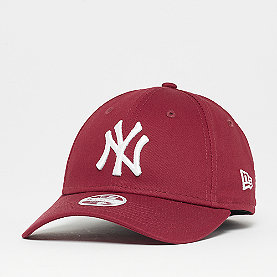 New Era New York Yankees Womens League Essential 9Forty kardinal/wht