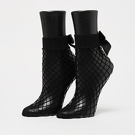ONYGO Fishnet Bow black