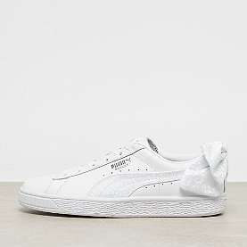 Puma Basket Bow Animal Wns puma white-puma aged silver