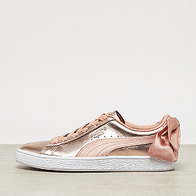 Puma Basket Bow COP Wns dusty coral-puma white