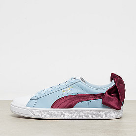 Puma Basket Bow New Sch Wns puma white-cerulean-pomegranate