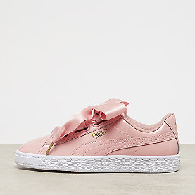 Puma Basket Heart Patent peach beige/white