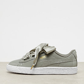 Puma Basket Heart Patent rock ridge/white