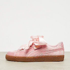 Puma Basket Heart VS silver pink/gold