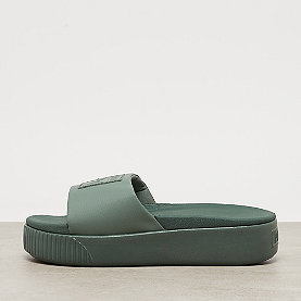 Puma Platform Slide Wns laurel wreath-puma white
