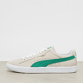 Puma Suede 90681 whisper white-green flash-puma white