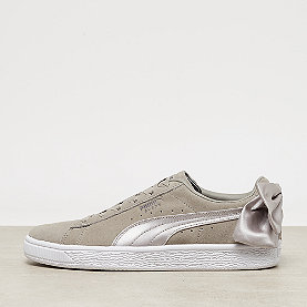 Puma Suede Bow Satin elephant skin-silver cloud