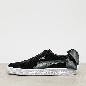 Puma Suede Bow Satin puma black-iron gate