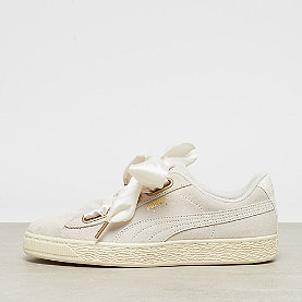 Puma Suede Heart Satin Wns whisper white-gold