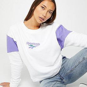 Reebok CL V Crew white
