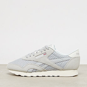 Reebok Classic Leather Nylon Mesh skull grey/primal red