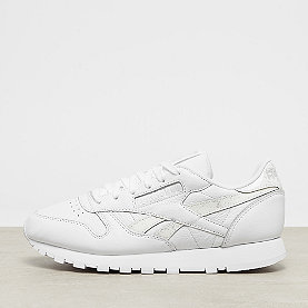 Reebok Classic Leather sidestripes white/lgh grey