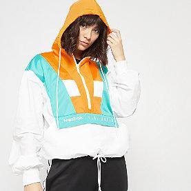 Reebok Gigi Cover Up Track Jacket white
