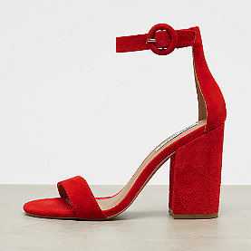 Steve Madden Friday red suede