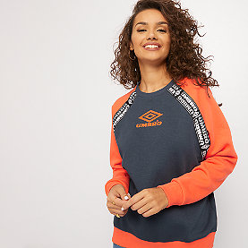 Umbro Colour Block Raglan Sweat blue nights/firecracker