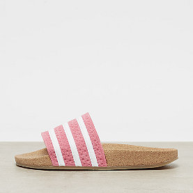 adidas Adilette Cork super pop/white/gum