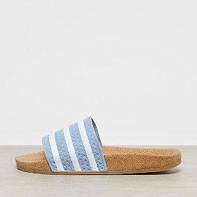 adidas Adilette Cork ash blue/white/gum