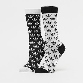 adidas Thin Crew Sock black/white