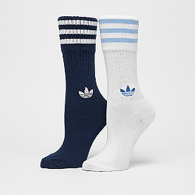 adidas Solid Crew 2PP navy/white/white/clear blue