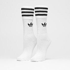 adidas Solid Crew 3PP white/black