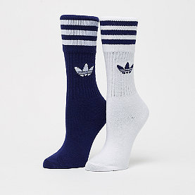 adidas Solid Crew dark blue/white