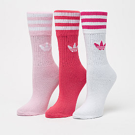 adidas Solid Crew true pink/white