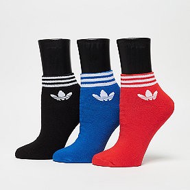 adidas Trefoil Ank Str black/red/blue