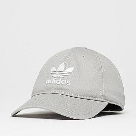 adidas Trefoil Classic Cap solid grey/white