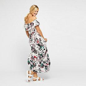 Eksept Goa Long Dress jetstream flower
