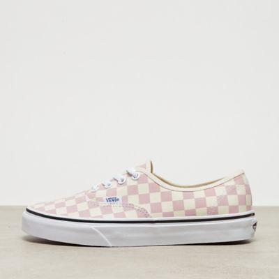 Vans UA Authentic checkerboard chalk pink white