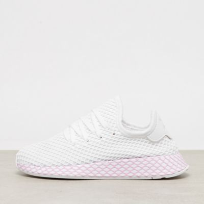 size 40 91f91 95c64 saleflag adidas Deerupt W white white clear lilac