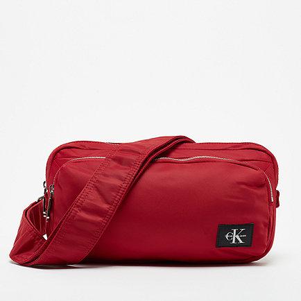 Calvin Klein CK Pilot Twill Sling Bag scarlett