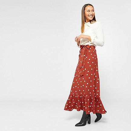 Edited Ilsa Skirt braun/creme/schwarz