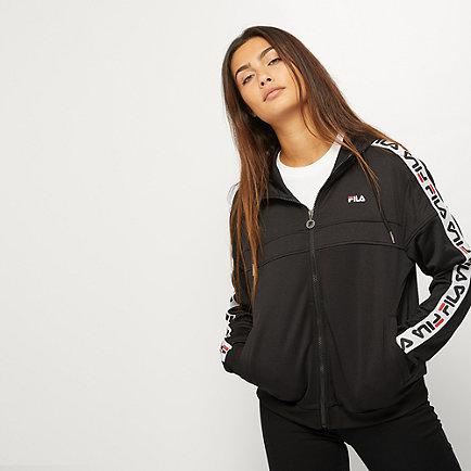 Fila TEELA Hooded Track Jacket black