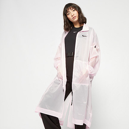 NIKE NSW Jacket Woven Swoosh pink foam/black