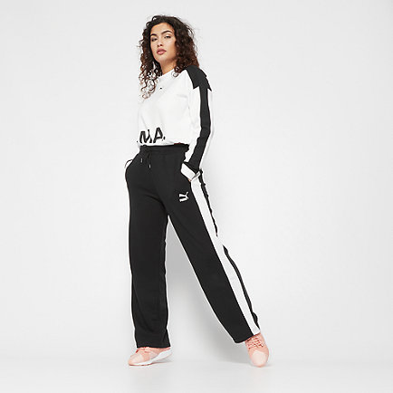 Puma Classics T7 Straight Pants cotton white