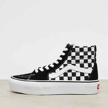 Vans UA Sk8-Hi Platform 2.0 checkerboard/true white