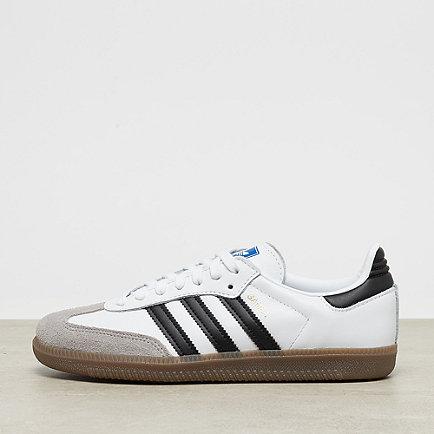 adidas Samba white/core black/clear granite