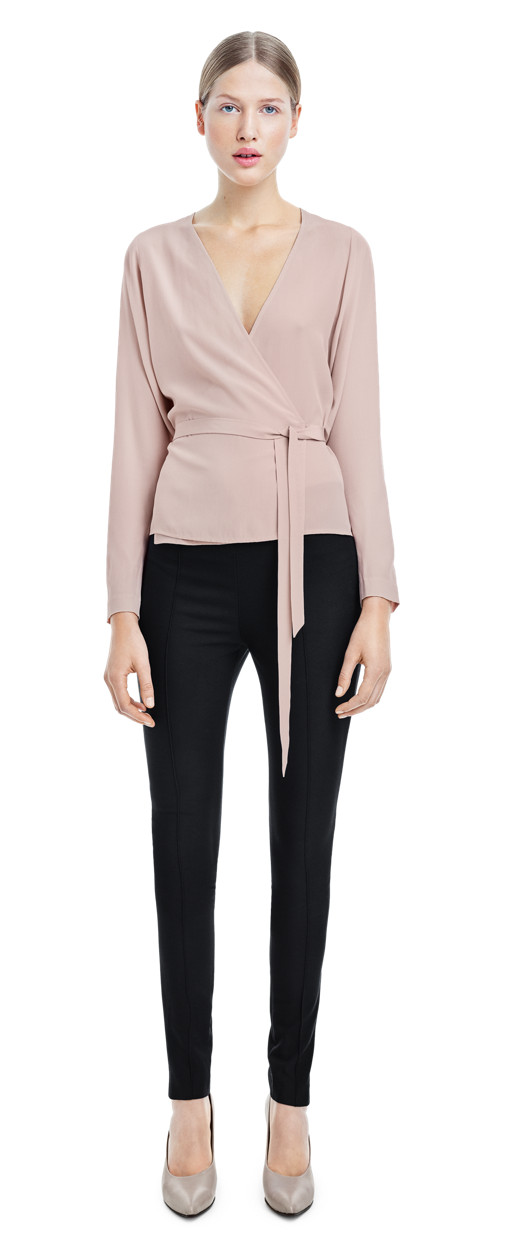 Silk Wrap Blouse - Filippa K