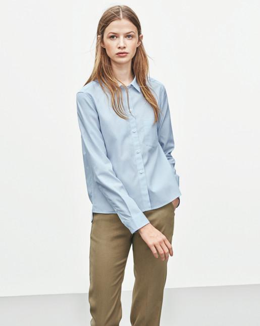 Pinstripe Short Shirt