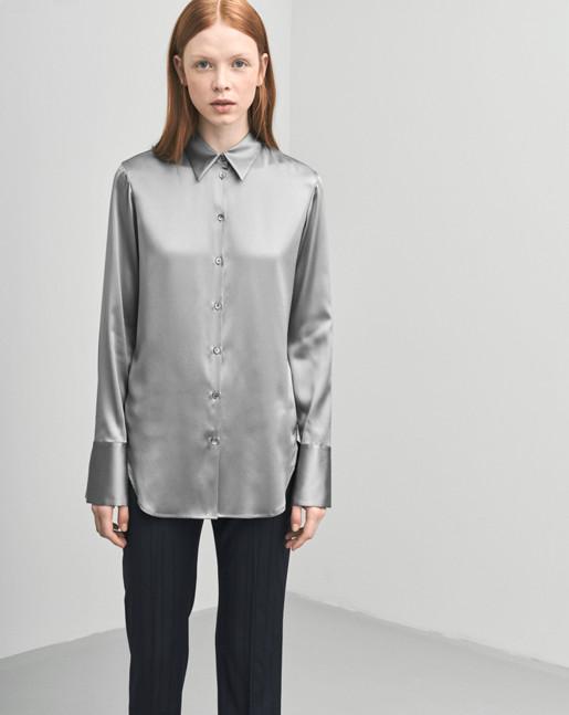 Tailored Silk Shirt