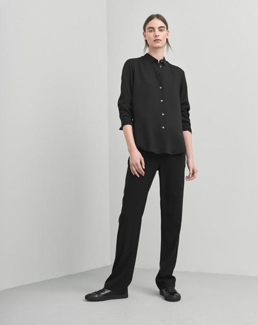 Drapey Shirt Black