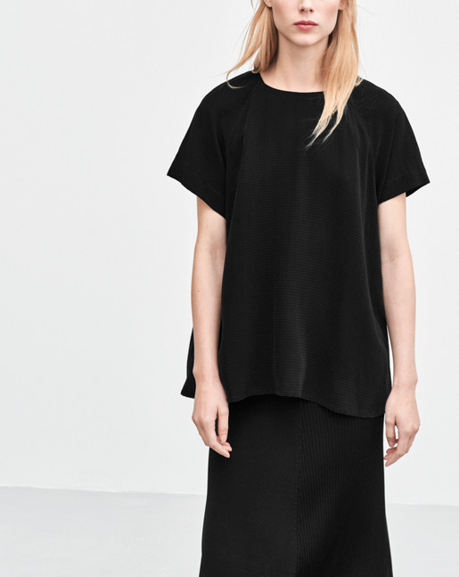 Trapeze Tunic Black